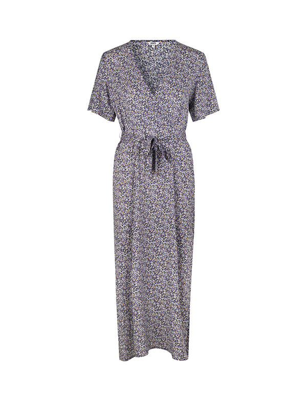 SEMIRA DRESS -  LAVENDER  PRINT
