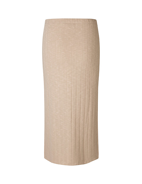 TONIA CARANO SKIRT - WHITE PEPPER