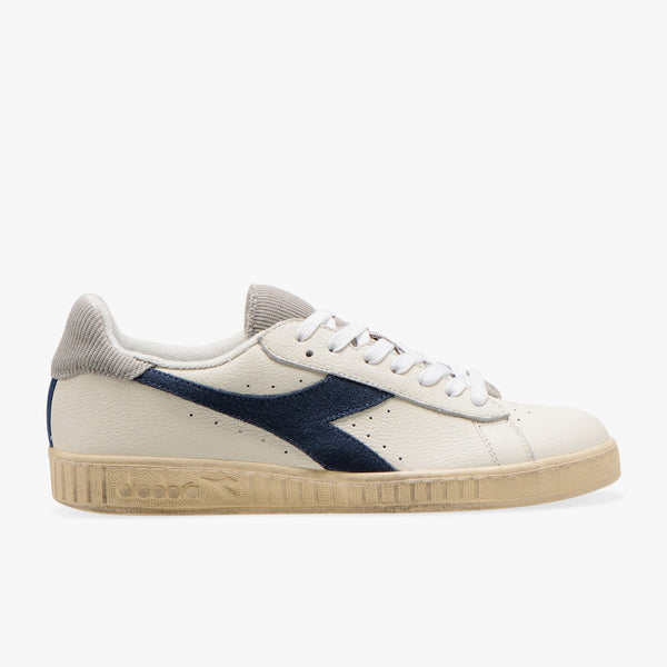 GAME L LOW USED - WHITE PALOMA DARK DENIM