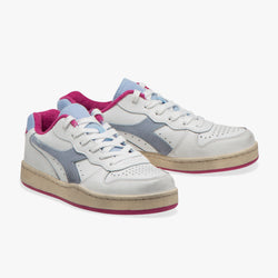 MI BASKET LOW USED WN - DIADORA  - POWDER BLUE/MAGENTA