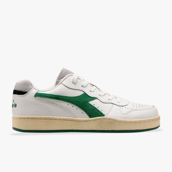 MI BASKET LOW USED - WHITE / VERDANT GREEN
