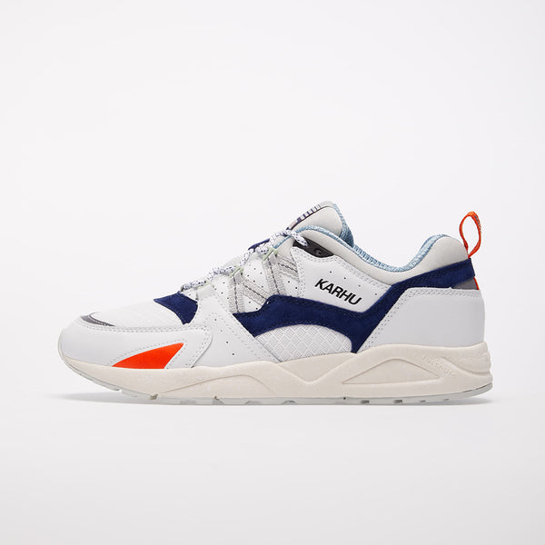 FUSION 2.0 SNEAKERS  - WHITE/TWILIGHT BLUE WOMAN