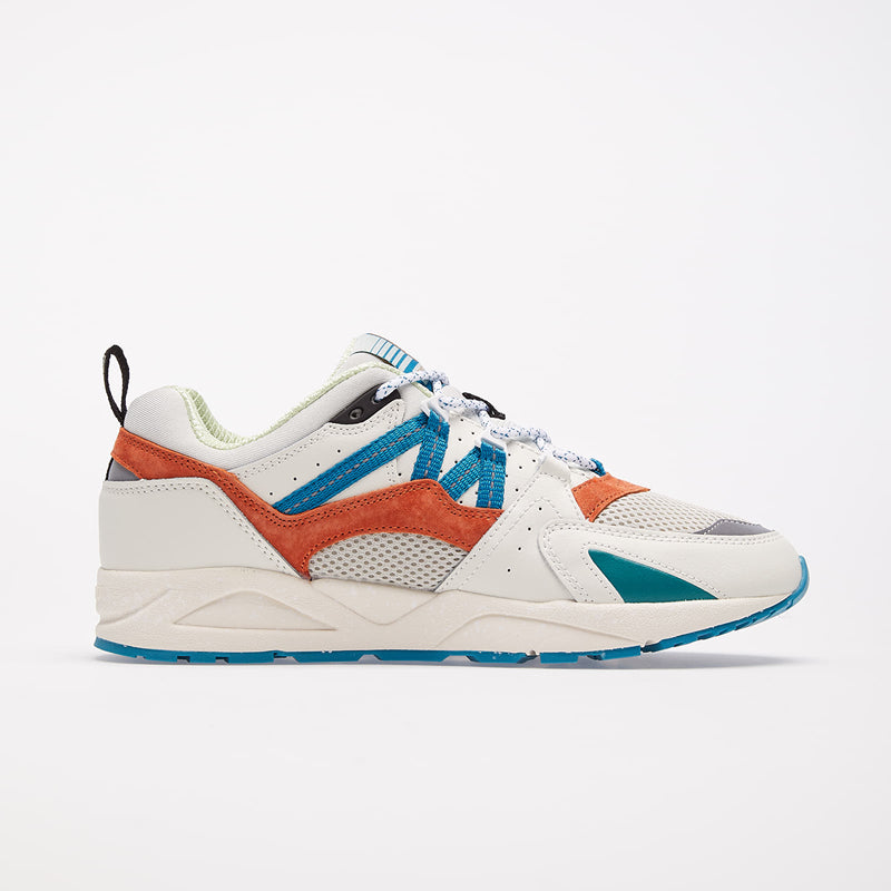 FUSION 2.0 SNEAKERS  - LILY WHITE/BURNT ORANGE