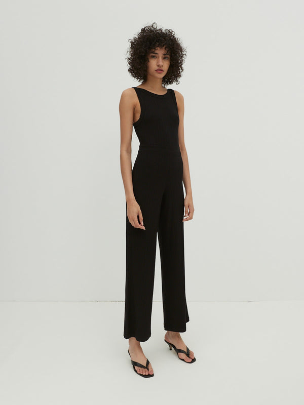 REMI JUMPSUIT - BLACK