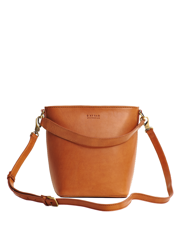 BOBBI BUCKET BAG - COGNAC CLASSIC LEATHER