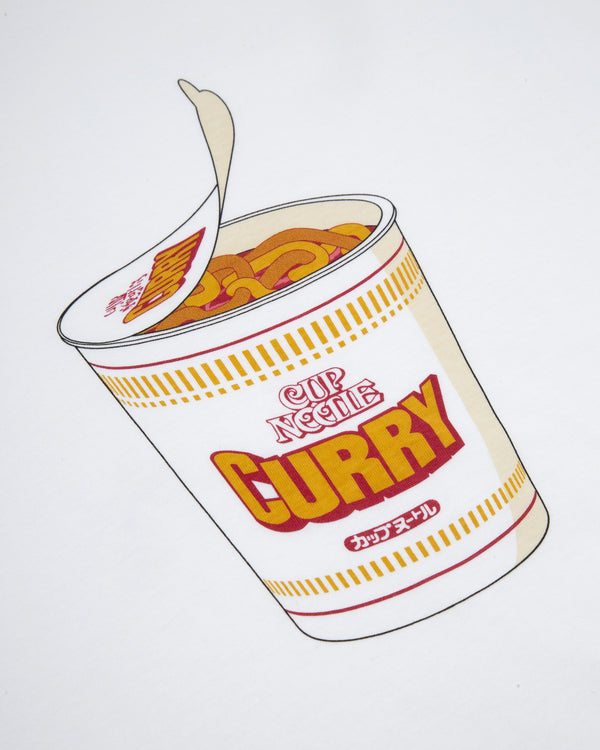 CURRY TO GO TEE - WHITE