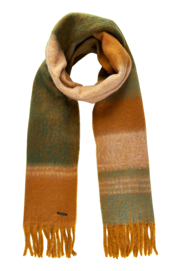 NUBAKARNE SCARF - LEATHER BROWN