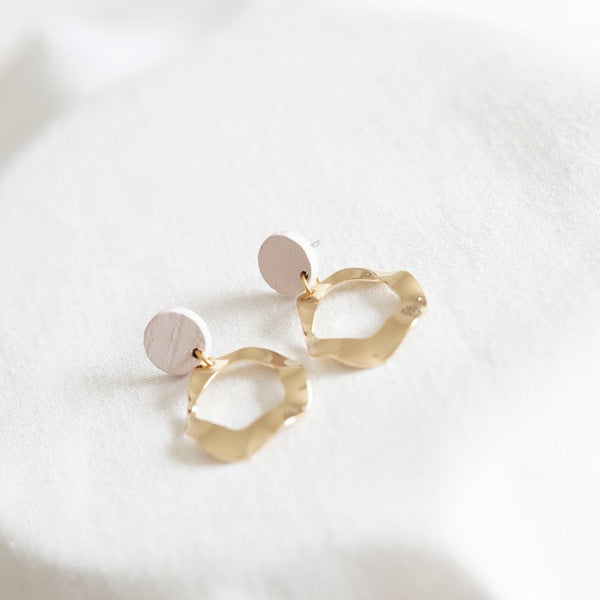 HOPE 14 EARRING - LIGHT PINK