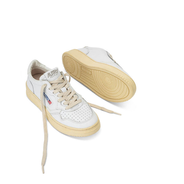 MEDALIST AULWLL15 - LEATHER WHITE/WHITE