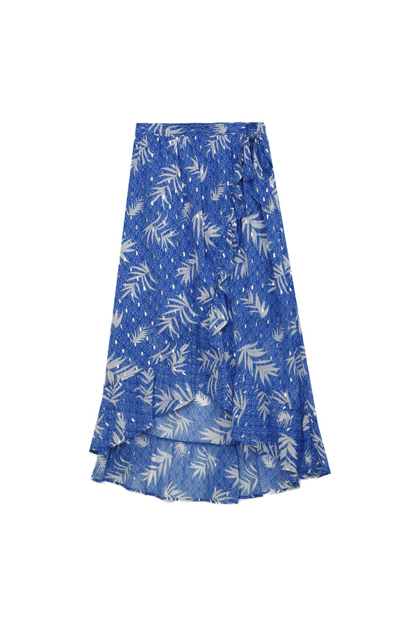AXELLE SKIRT - BLUE