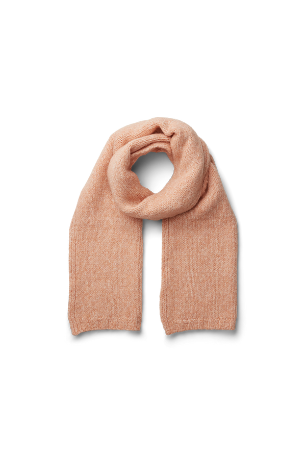 ALIKI SCARF - DUSTY CORAL MELANGE