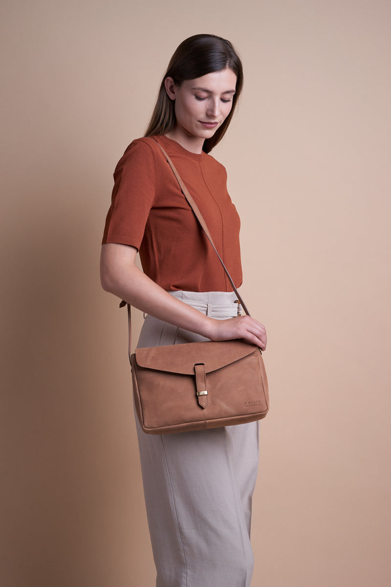 ALLY MAXI BAG - ECO CAMEL