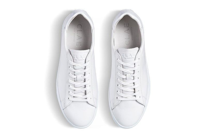 BRADLEY - TRIPLE WHITE LEATHER