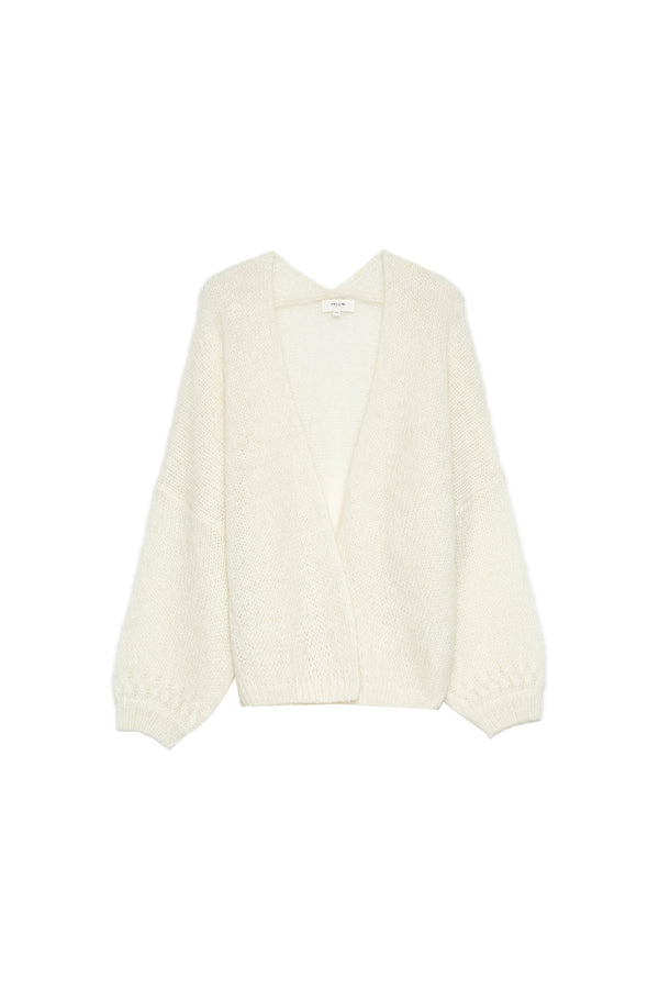 CALISSON CARDIGAN - ECRU