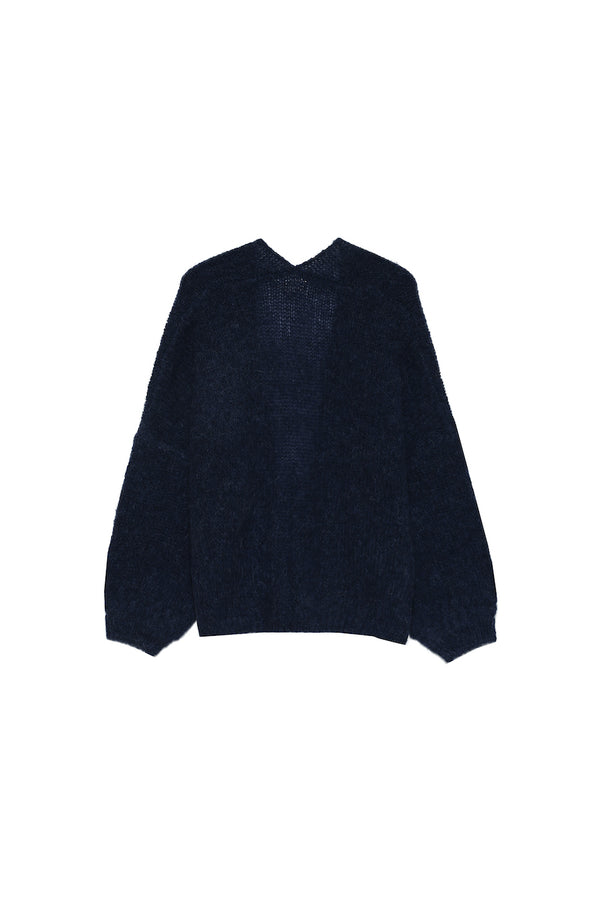 CALISSON CARDIGAN - MARINE