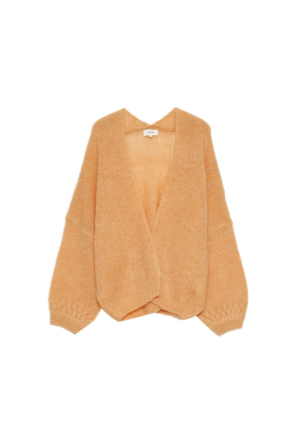 CALISSON CARDIGAN - PEACH