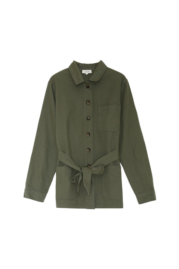 CARINE JACKET - GREEN