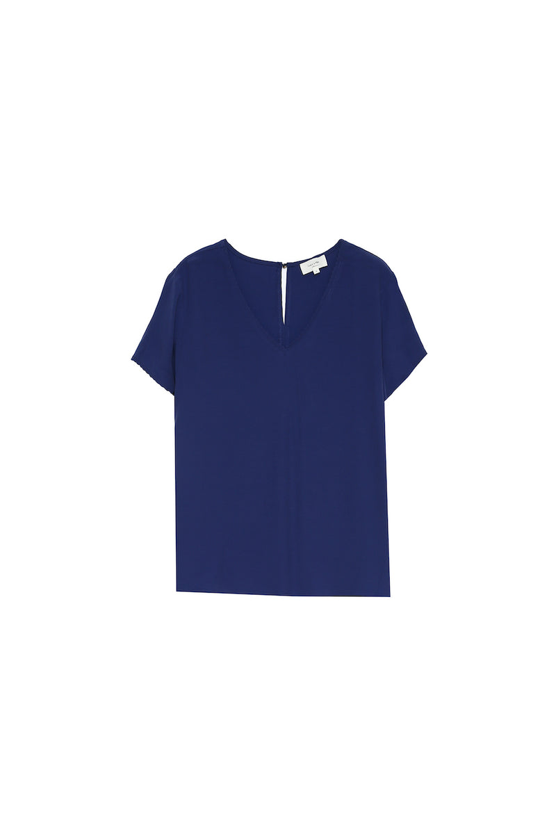 CASEY TOP - BLUE