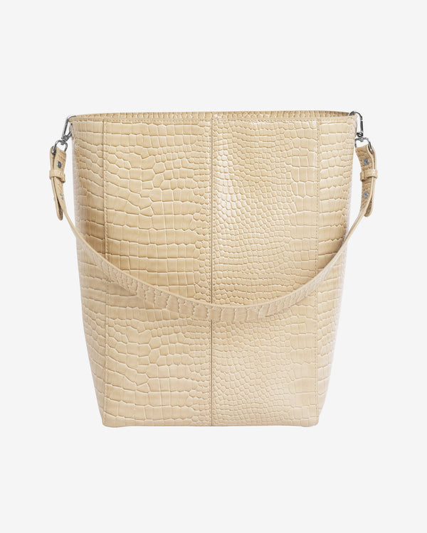 CASSET CROCO - LIGHT BEIGE