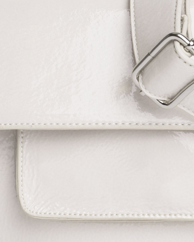 CAYMAN POCKET GLOSSY - WHITE
