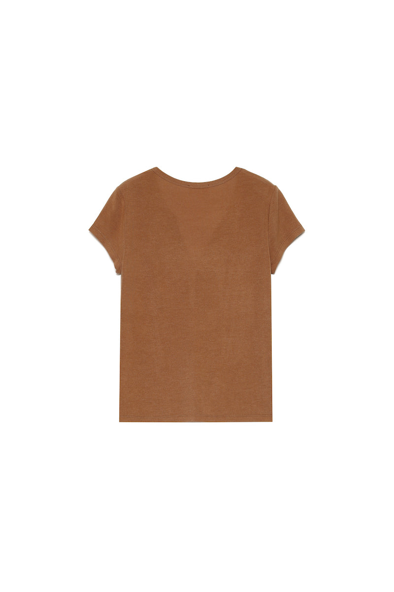CERES T-SHIRT - TAUPE