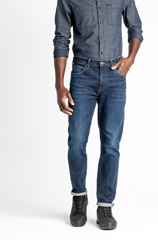 AUSTIN REGULAR TAPERED JEANS - WORN FOAM