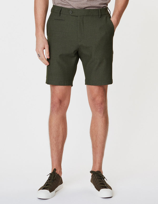 COMO LIGHT SHORTS - DARK GREEN