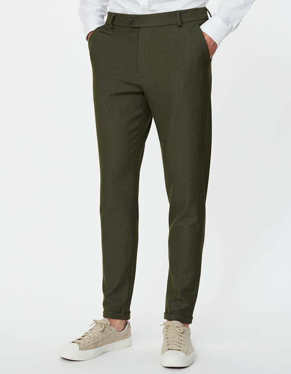 COMO SUIT PANTS - DEEP FORREST