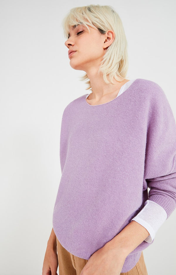 DAMSVILLE KNIT - PURPLE