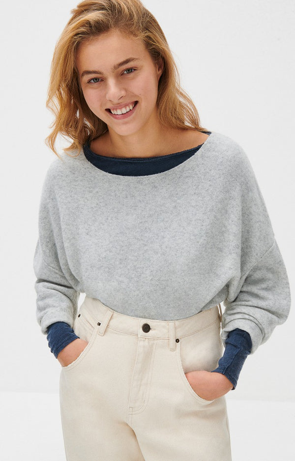 DAMSVILLE KNIT - PULPE CHINE