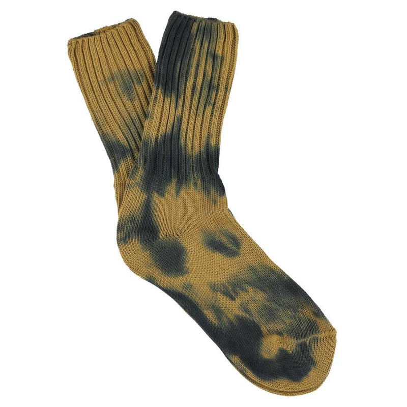 WOMEN TIE DYE SOCKS - MOOD INDIGO/MEDAL BRONZE