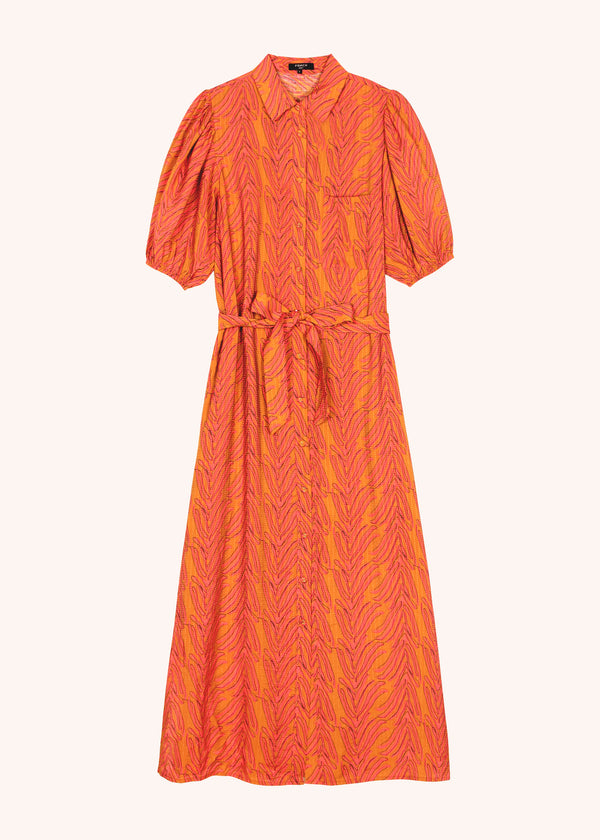 ALYHA DRESS - FAUNE ORANGE