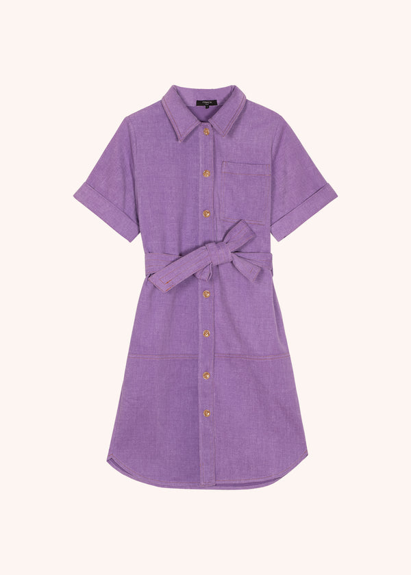 ADELMA DRESS - LILAS