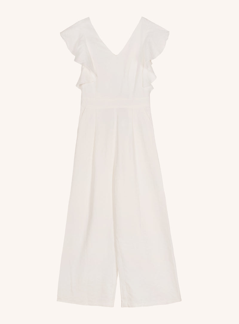 MAILY JUMPSUIT - WHITE