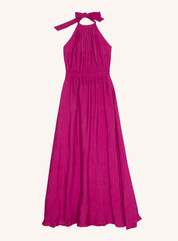 ALISIER DRESS - FUCHSIA