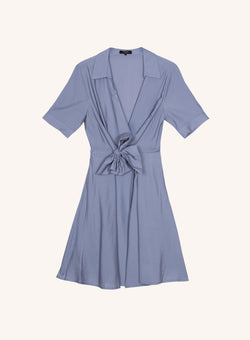 AEL DRESS - BLUE JEAN