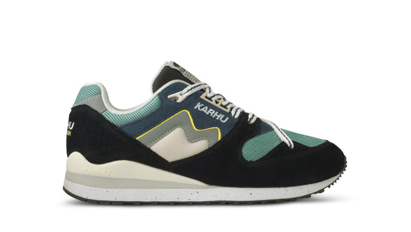 SYNCHRON CLASSIC SNEAKERS M - JET BLACK / BLUE WING TEAL