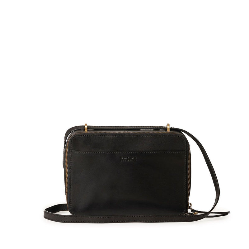 BEE'S BOX BAG CLASSIC LEATHER - BLACK
