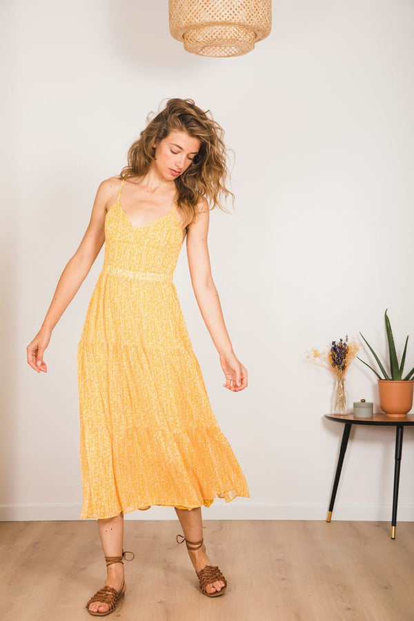 DAMANE DRESS  - YELLOW