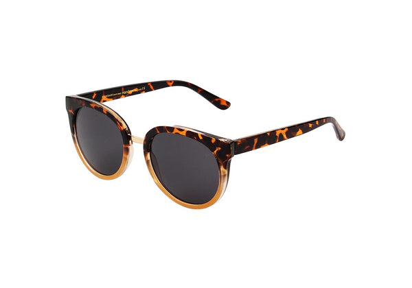 GRAY SUNGLASSES - DEMI TORTOISE YELLOW