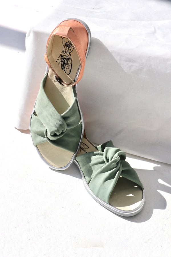 CUP/MO/ID SANDALS - GREEN