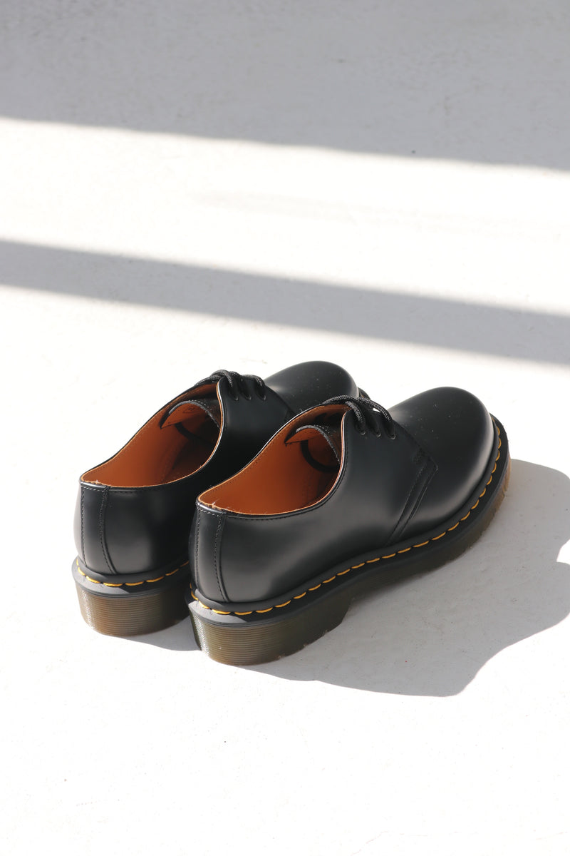 1461 SMOOTH LEATHER - BLACK