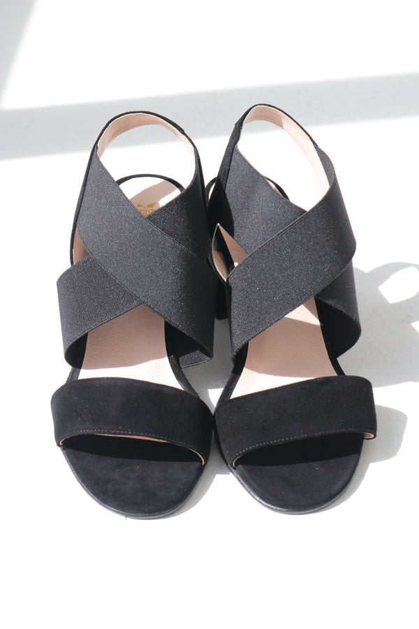 ANGELINA HEELS  - BLACK