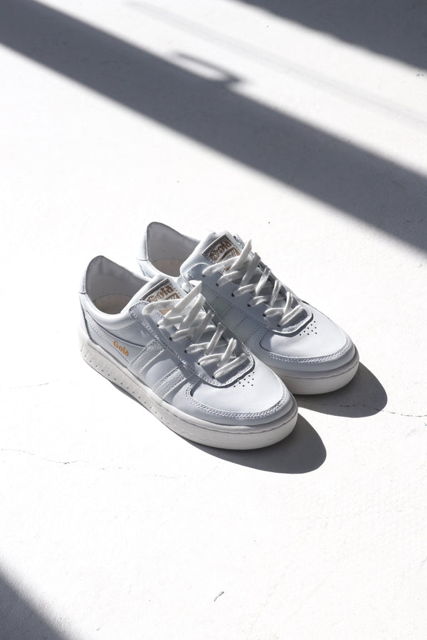 GRANDSLAM 78 LEATHER - WHITE/WHITE/WHITE
