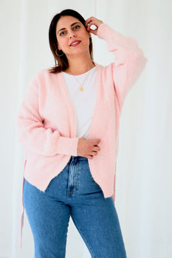 LOREEN GILET - SOFT PINK