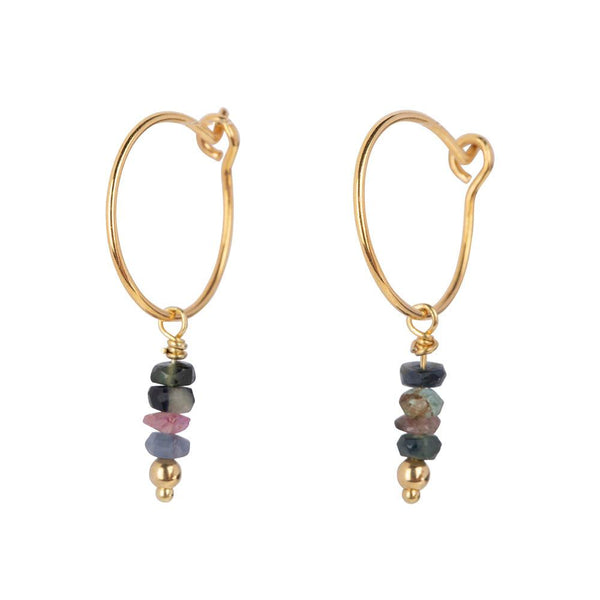 LOULOU EARRINGS - GOLD
