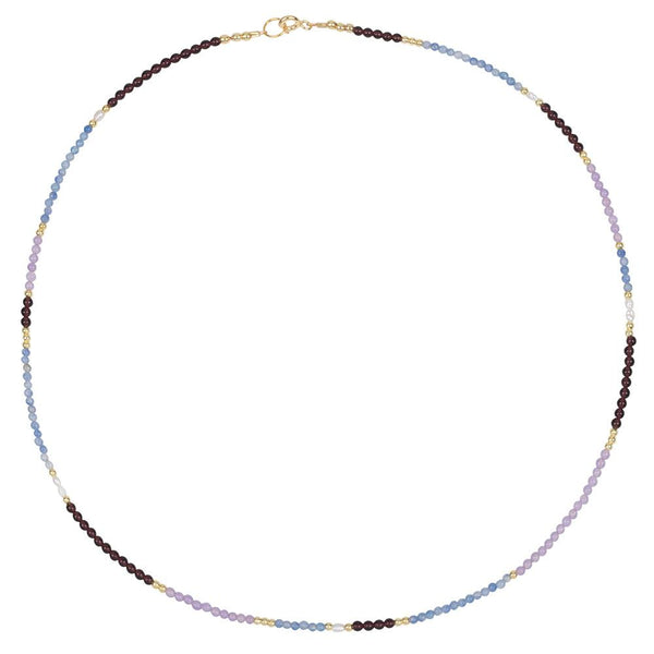 LOU BLUE NECKLACE  - BLUE