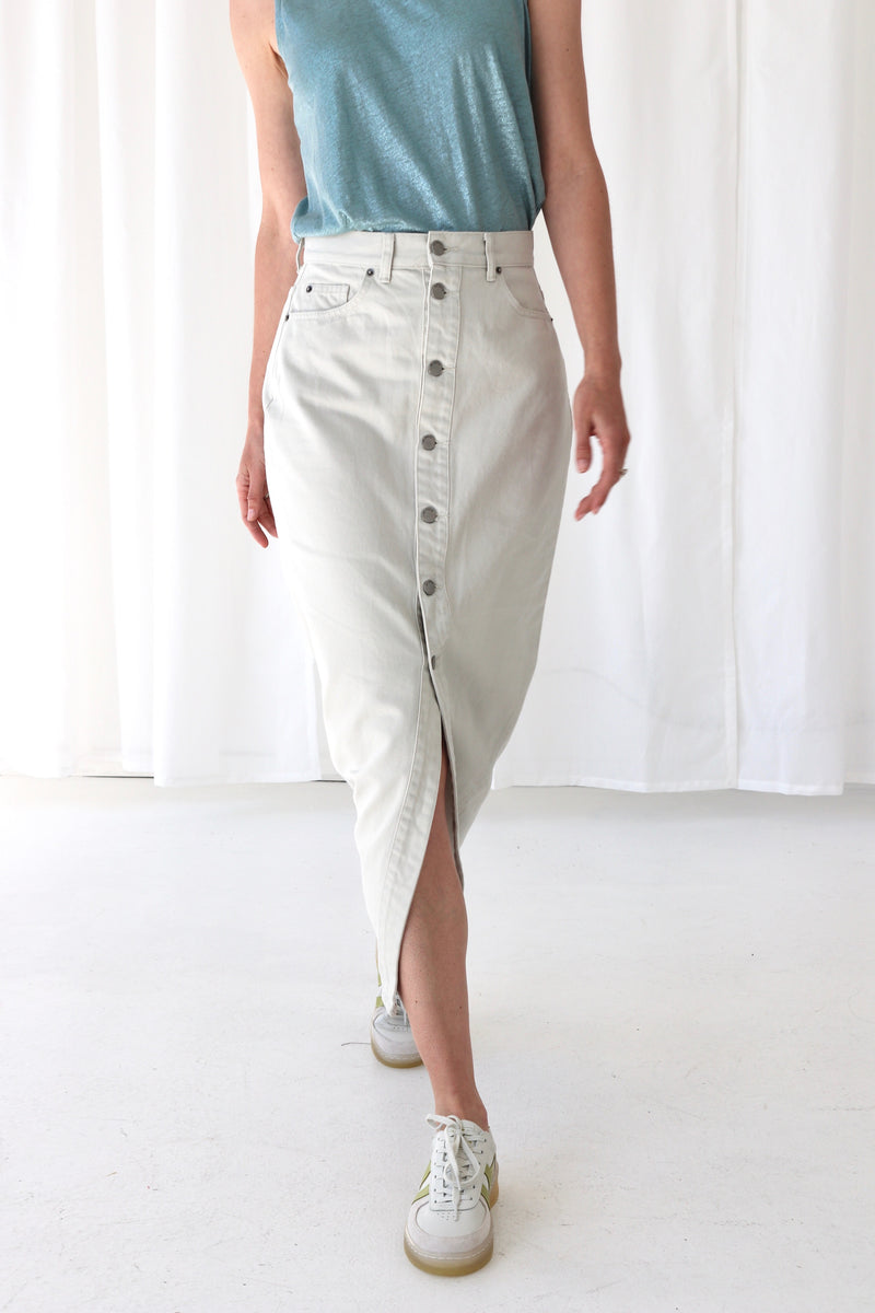 VENLA SKIRT - WASHED PINFIRE
