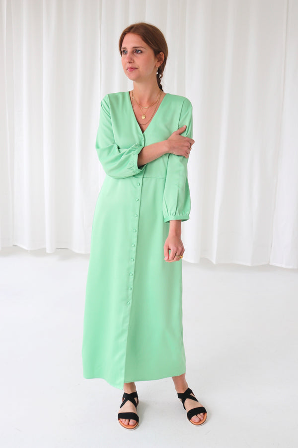 CAYSA DRESS - JADE GREEN