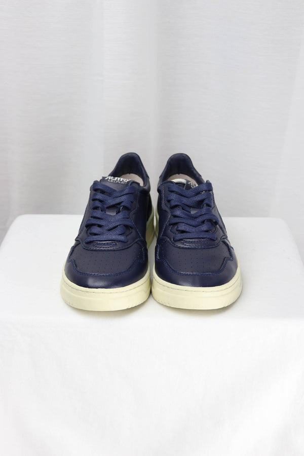 AUTRY AULM CB13 LOW MAN - LEAT/LEAT BLUE